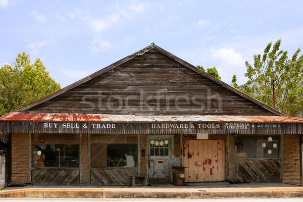 ヴィンテージ グランジ 木製 テキサス州 ストア ストックフォト © lunamarina