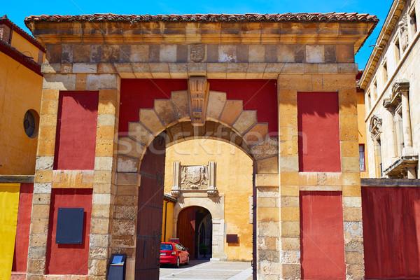 Templom út szent épület kő építészet Stock fotó © lunamarina