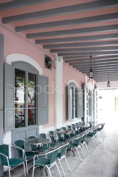 Ibiza Mediterranean island architecture houses Stock photo © lunamarina