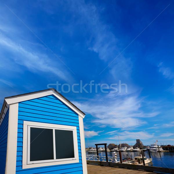 Cape cod port Massachusetts USA eau nature Photo stock © lunamarina
