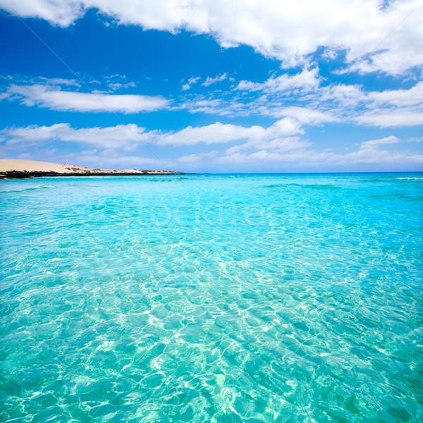 Stockfoto: Strand · Spanje · hemel · water · landschap