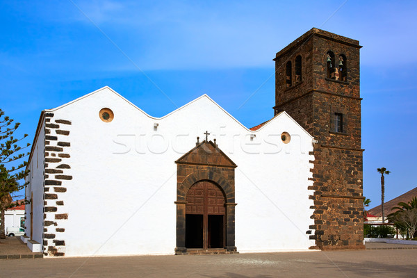 La Oliva church Fuerteventura at Canary Islands Stock photo © lunamarina