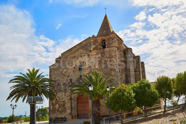 Iglesia España naturaleza campo azul Foto stock © lunamarina