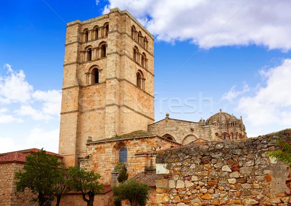 大聖堂 ラ スペイン 市 城 アーキテクチャ ストックフォト © lunamarina