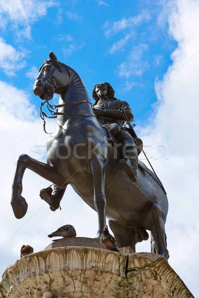 London Trafalgar Square King Charles I  Stock photo © lunamarina