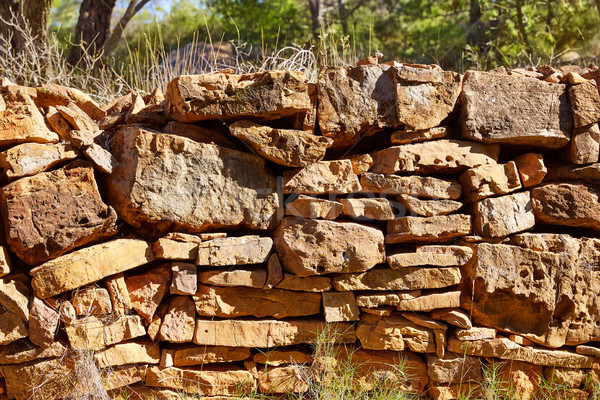 Kamień kamieniarstwo Walencja szczegół góry Hiszpania Zdjęcia stock © lunamarina