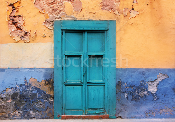 Las Palmas de Gran Canaria Vegueta houses Stock photo © lunamarina