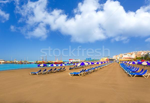 Stok fotoğraf: Plaj · tenerife · güney · gökyüzü · doğa