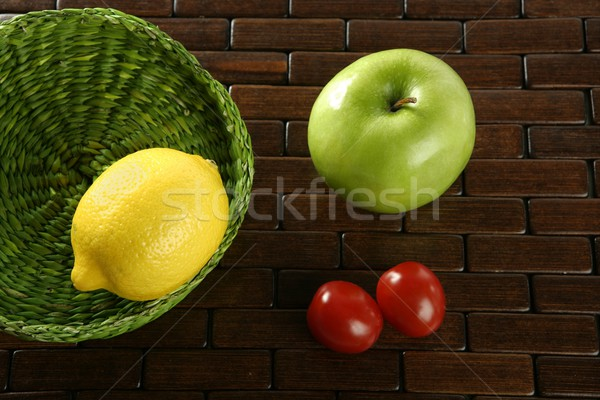 Varied fruits and vegetables Stock photo © lunamarina