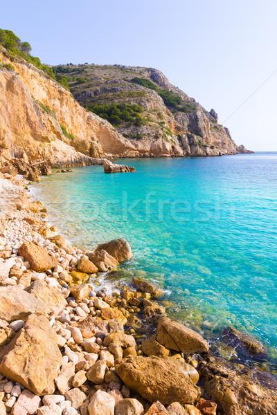Tango playa España mediterráneo mar océano Foto stock © lunamarina