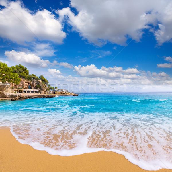 Majorca Playa de Illetas beach Mallorca Calvia Stock photo © lunamarina