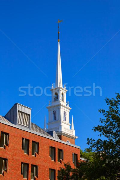 Universiteit cambridge Massachusetts USA school college Stockfoto © lunamarina