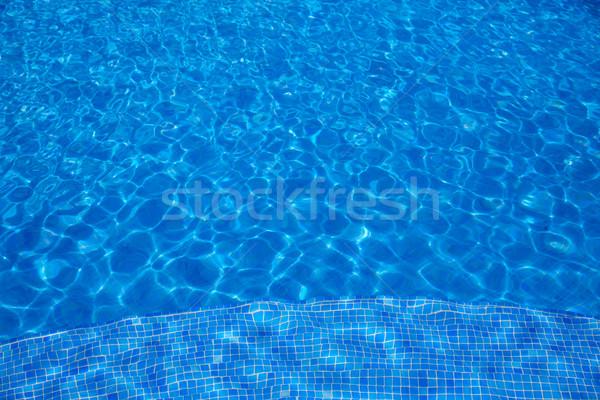 Blu · piastrelle · piscina · acqua · texture · abstract foto d