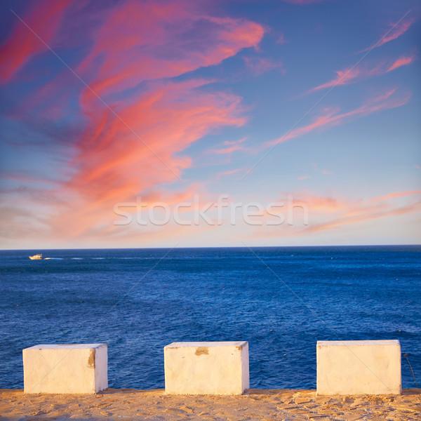Wygaśnięcia morze Śródziemne Hiszpania plaży słońce charakter Zdjęcia stock © lunamarina
