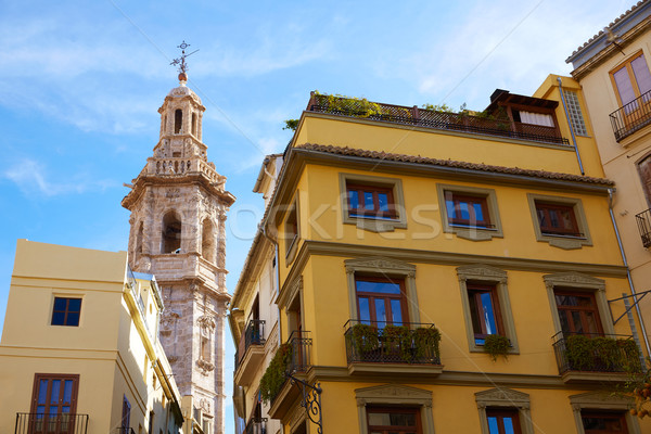 Valencia kilise İspanya şehir merkezinde şehir Stok fotoğraf © lunamarina