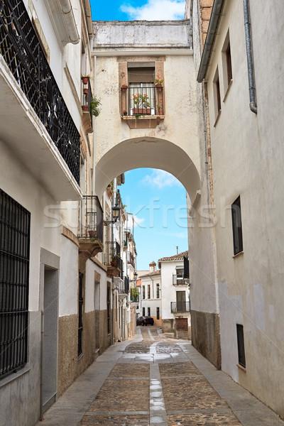Espanha arco edifício cidade construção arte Foto stock © lunamarina