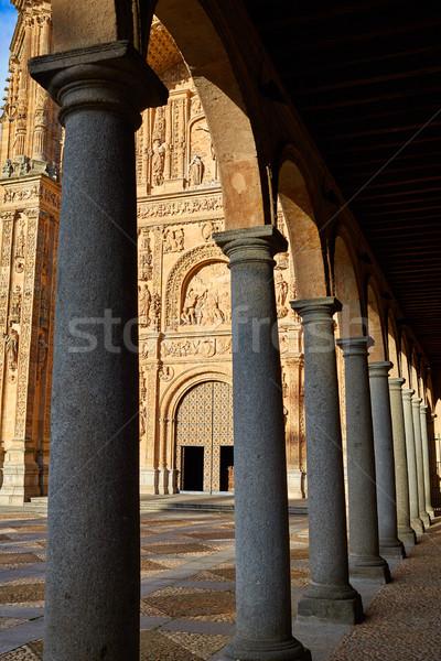 Stock photo: San Esteban Convent in Salamanca Spain