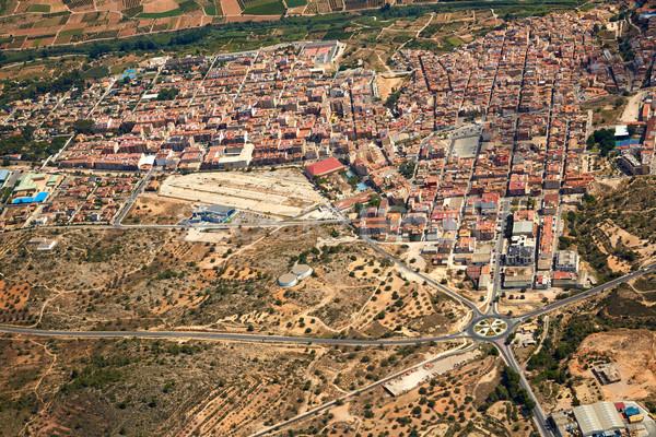 Frazione foto Valencia Spagna strada Foto d'archivio © lunamarina