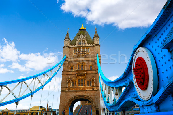 Londres Tower Bridge rio inglaterra céu Foto stock © lunamarina