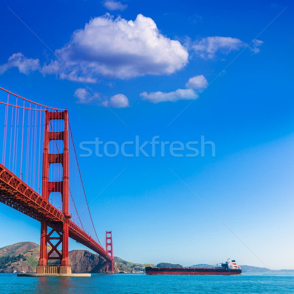 Золотые Ворота Сан-Франциско Калифорния США небе город Сток-фото © lunamarina