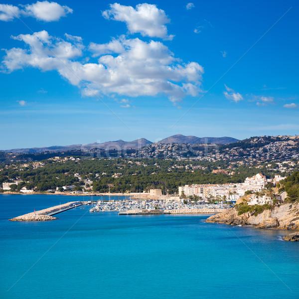 Marina portu morze Śródziemne Hiszpania wody morza Zdjęcia stock © lunamarina