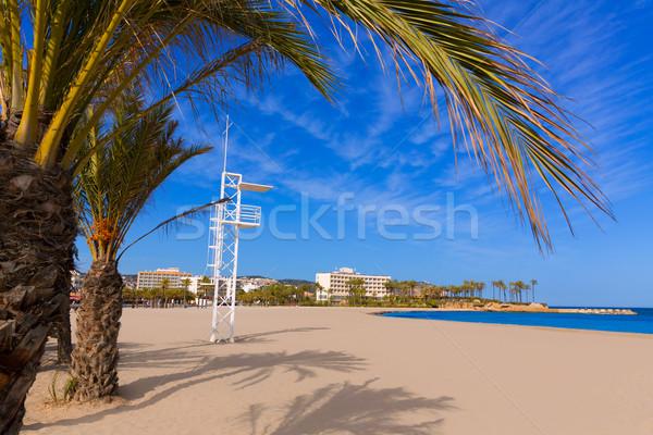Middellandse zee Spanje strand water natuur landschap Stockfoto © lunamarina