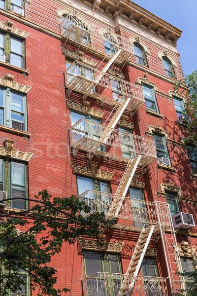 Ovest frazione New York Manhattan edifici costruzione Foto d'archivio © lunamarina