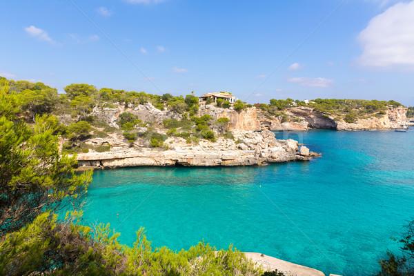 Majorca Cala Llombards Santanyi beach Mallorca Stock photo © lunamarina