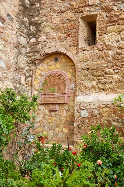 Mojacar Almeria white Mediterranean village Spain Stock photo © lunamarina