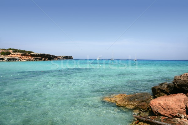 Stock photo: Formentera island near Ibiza in Mediterranean