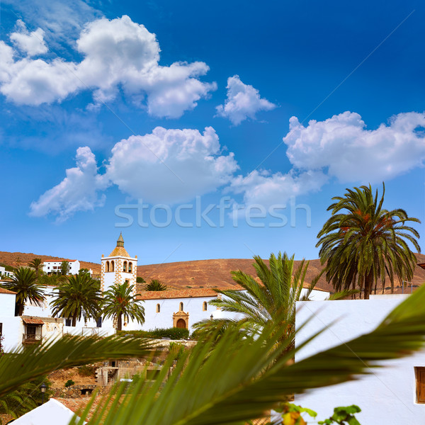 Betancuria village Fuerteventura Canary Islands Stock photo © lunamarina
