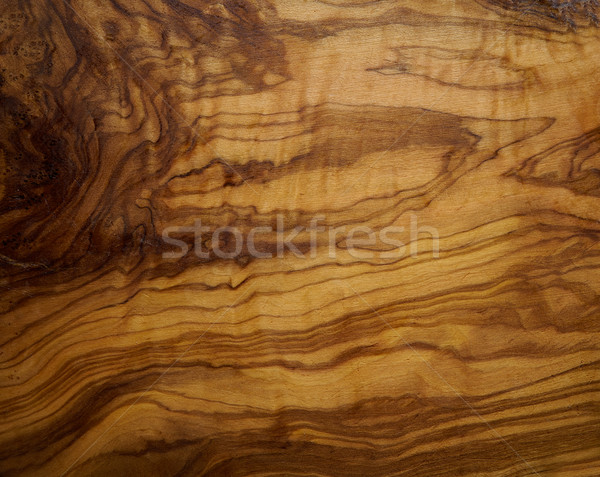 Olive tree wood texture from a wooden table Stock photo © lunamarina