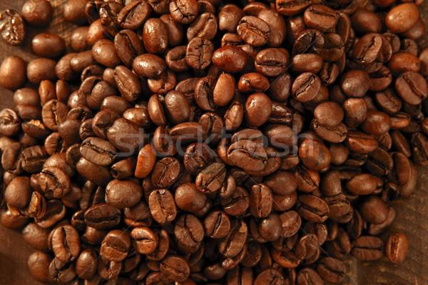 焼いた コーヒー 豆 テクスチャ 光 ストックフォト © lunamarina