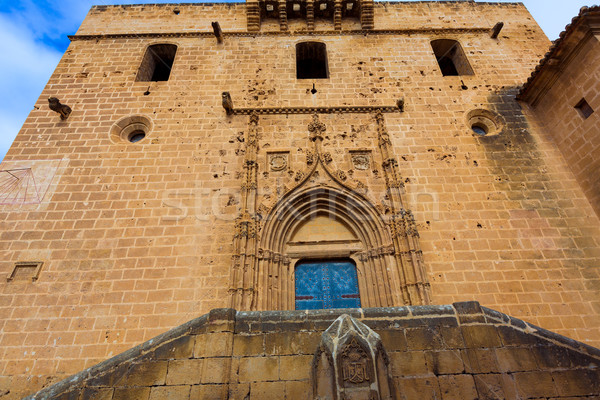Javea Xabia Sant Bertomeu church Alicante Spain Stock photo © lunamarina
