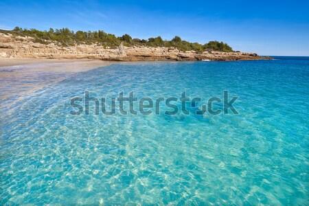 Costa Brava beach Lloret de Mar in Catalonia Stock photo © lunamarina
