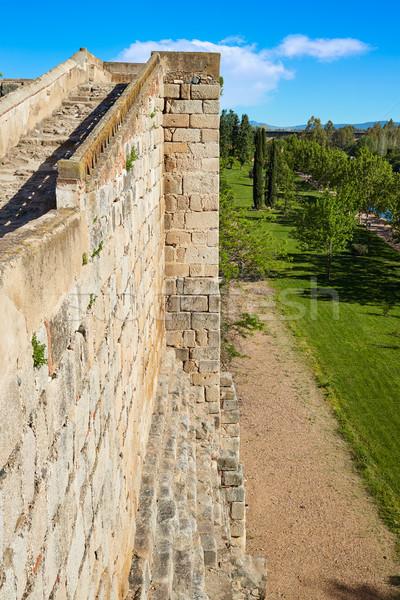 Merida Alcazaba in Spain Badajoz Extremadura Stock photo © lunamarina