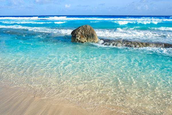 Cozumel island beach Riviera Maya Mexico Stock photo © lunamarina