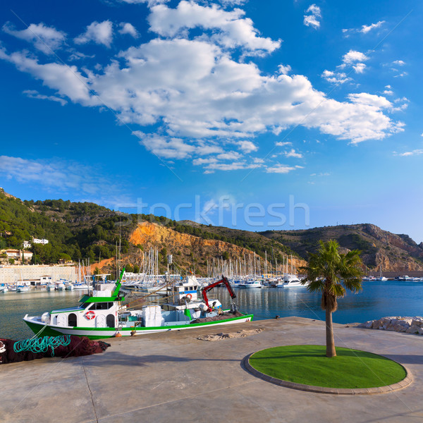 Javea Xabia marina Club Nautico in Alicante Spain Stock photo © lunamarina