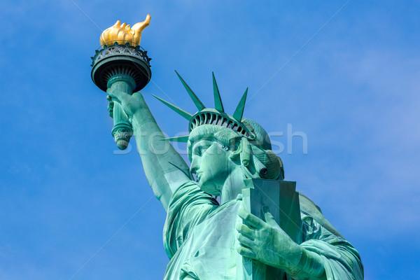 статуя свободы Нью-Йорк американский символ США Сток-фото © lunamarina
