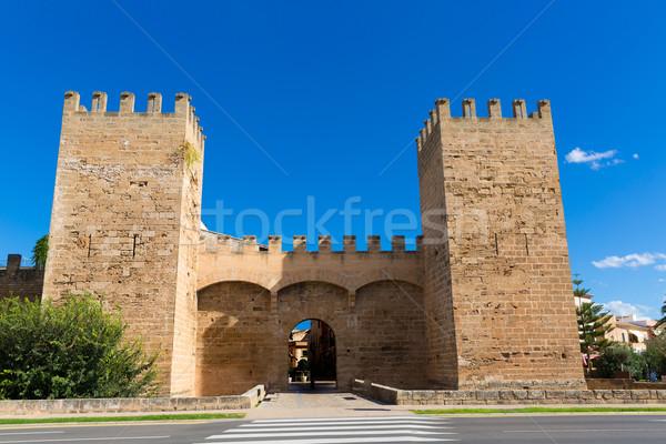 Majorca oude binnenstad eilanden Spanje voorjaar weg Stockfoto © lunamarina