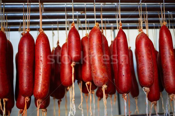 Майорка типичный колбаса Испания продовольствие Сток-фото © lunamarina