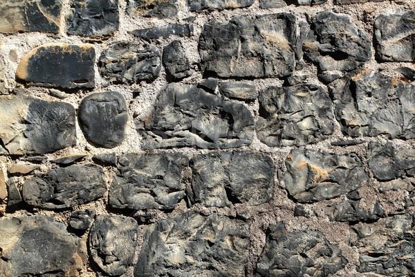 Aged masonry texture wall grunge background Stock photo © lunamarina