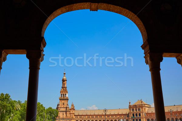 スペイン 広場 旅行 アーキテクチャ 方法 古代 ストックフォト © lunamarina