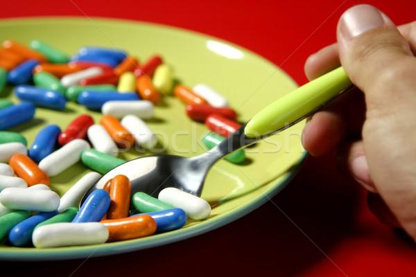 Photo stock: Enfants · favori · menu · sweet · coloré · peu