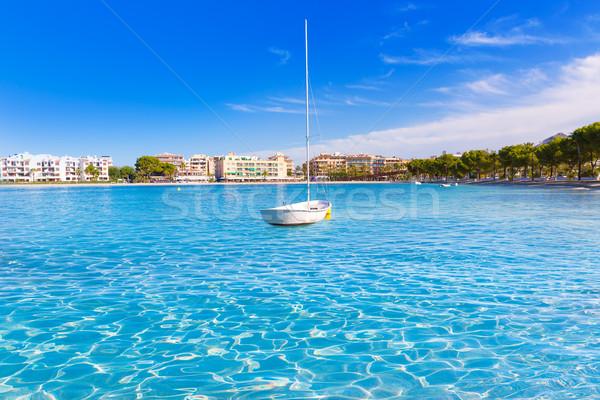 Praia mallorca Espanha água natureza Foto stock © lunamarina