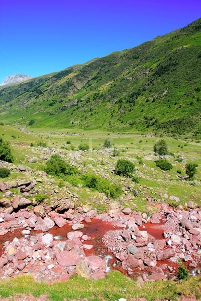 La Guarrinza Aiguestortes Pyrenees mountains Stock photo © lunamarina