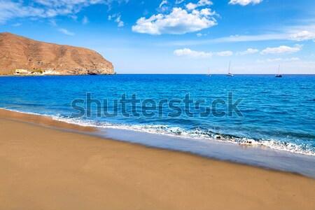 Stock photo: Gran Tarajal beach Fuerteventura Canary Islands