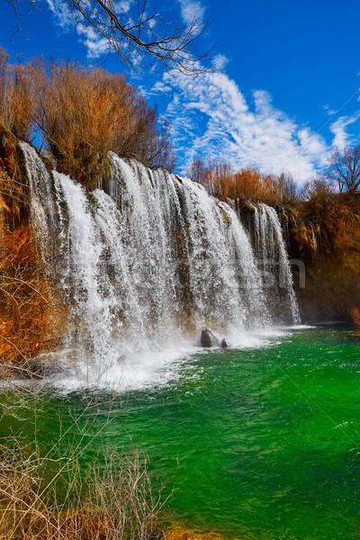 Cascada de San Pedro in Teruel Sierra Albarracin Stock photo © lunamarina
