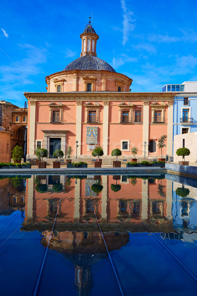 Valencia bazilika templom épület város nyár Stock fotó © lunamarina