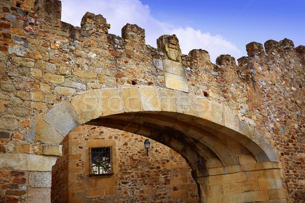 арки Испания звездой вход монументальный Сток-фото © lunamarina